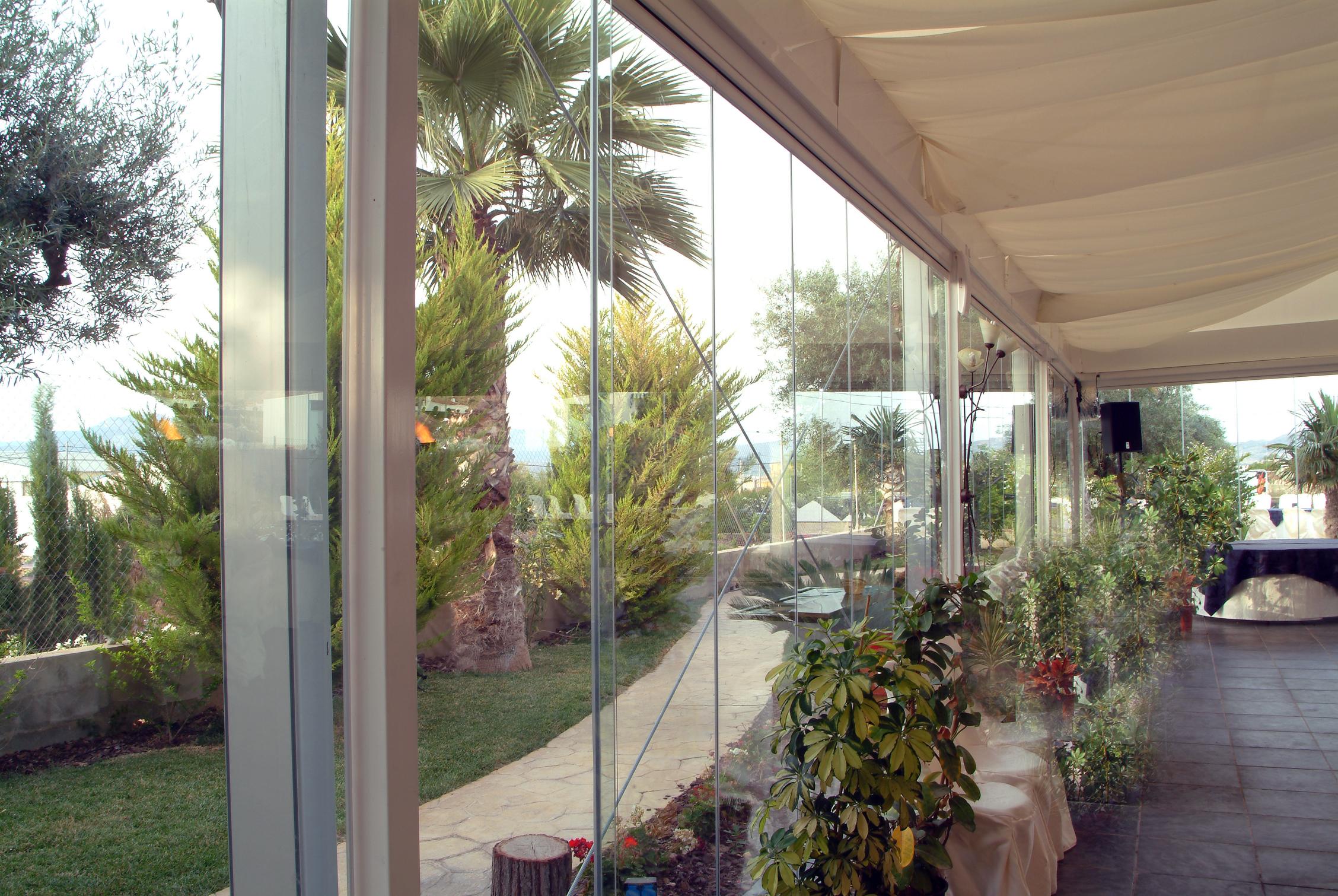 Fermeture Vitree Restaurant 6