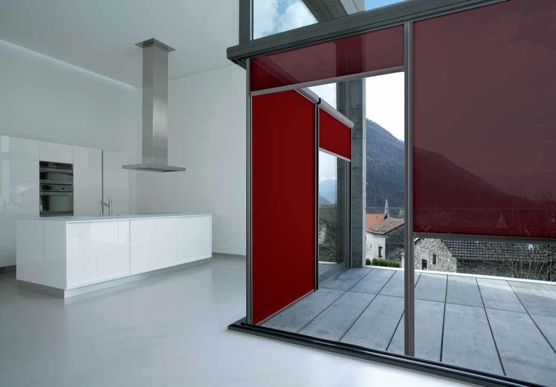 Store d'extérieur vertical WindScreen