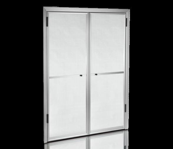 moustiquaire 2 battants pour portes